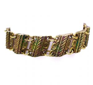 Brass Unisex Ethnic Bracelet - Nickel Free